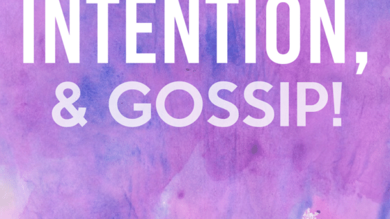 Influence, Intention and Gossip