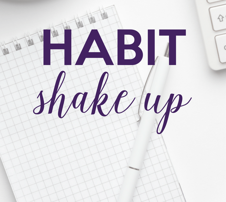 Habit Shake Up by Heather Quisel