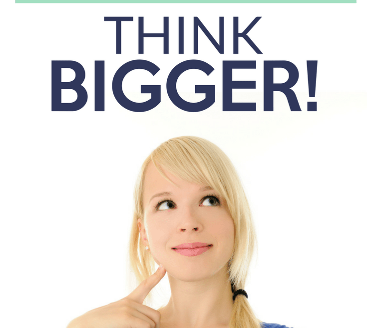 Raise the Bar Think Bigger! by Heather Quisel
