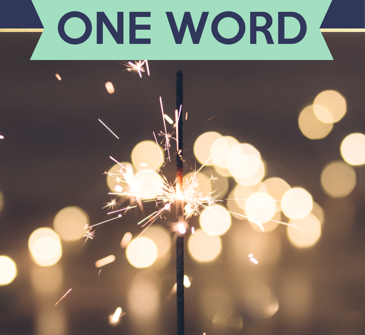 Challenge: Define Your Year in ONE WORD